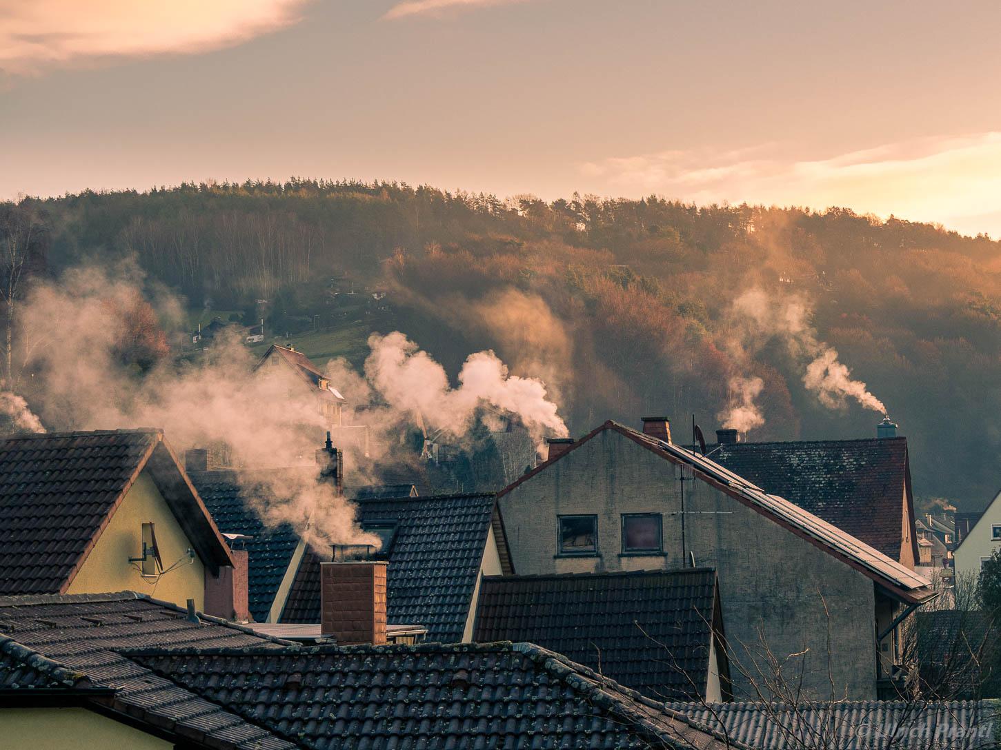 Dammbach Morgenstimmung